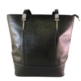 Karen fekete rostbőr táska N147