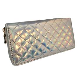 Ezüst csillogó pénztárca