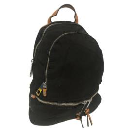 Kisméretű hátizsák fekete