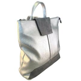 Karen nagyméretű ezüst hátizsák