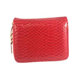 Kisméretű piros pénztárca F6619