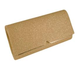 Alkalmi táska csillogó arany 9020