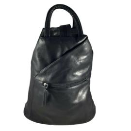 Divatos fekete hátizsák 0206
