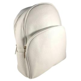 Kis trendi hátizsák fehér18005