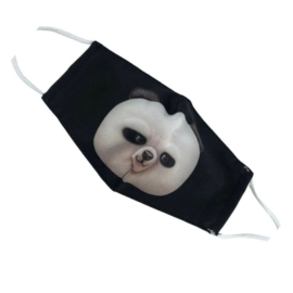 Extra cuki kis pandás maszk