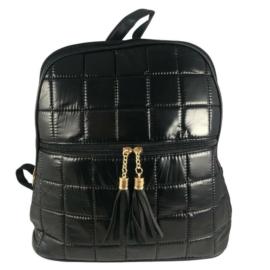 Steppelt hátizsák fekete színben 8353