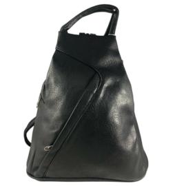 Divatos fekete hátizsák 6872