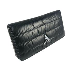 Fekete steppelt pénztárca