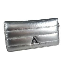 Ezüst steppelt pénztárca