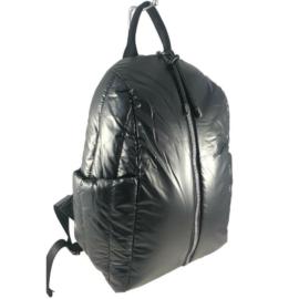 Miss Moda fekete steppelt hátizsák