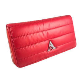 Piros steppelt pénztárca