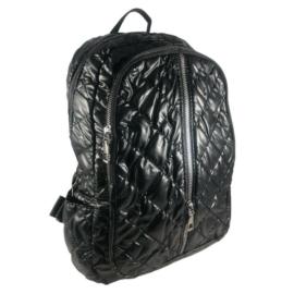 Mai Max fekete steppelt hátizsák