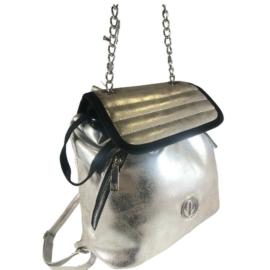 Prestige női ezüst és arany hátizsák