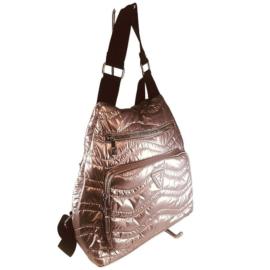 Pink steppelt divatos hátizsák 7080