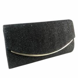 alkalmi táska fekete