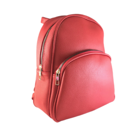 Kis trendi hátizsák piros Aida