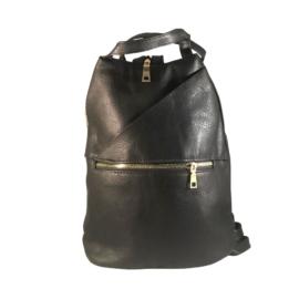 cipzáros hátizsák fekete