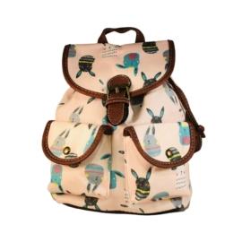 Kis nyuszis mintájú hátizsák Camilla