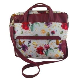 Kolibri laptop táska - bordó