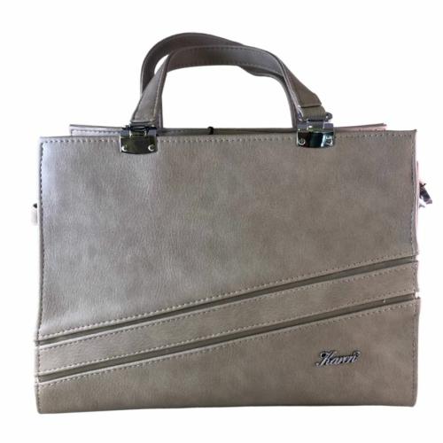 Karen szürke rostbőr táska