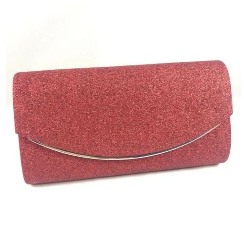 Alkalmi táska csillogó piros