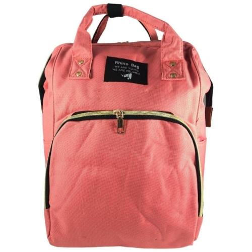 Baba - mama pamutvászon táska rózsaszín