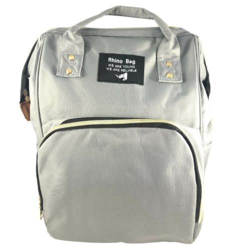 Baba - mama pamutvászon táska szürke színben