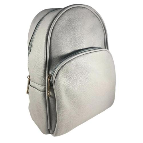 Kis trendi hátizsák szürke 18005