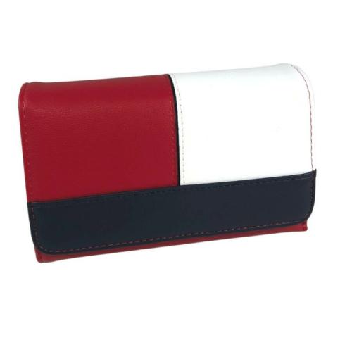 Divatos 3 színű pénztárca