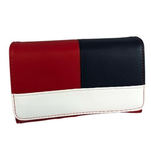 Divatos 3 színű pénztárca 02