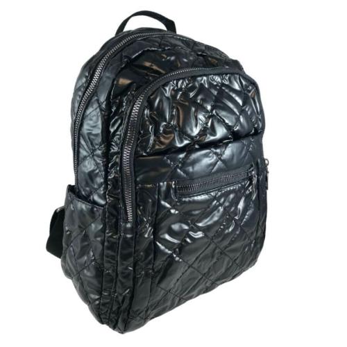 Mai Max fekete divatos steppelt hátizsák