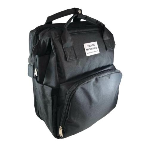 Baba - mama pamutvászon táska utazóággyal