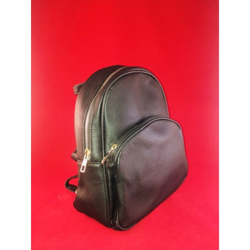 Kis trendi hátizsák fekete Aida