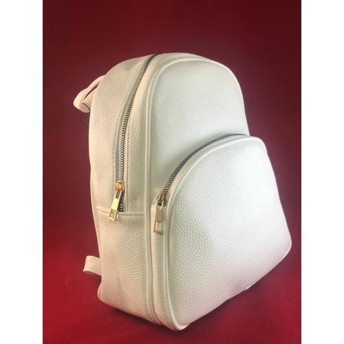 Kis trendi hátizsák fehér Aida