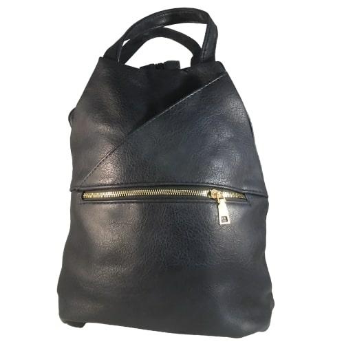 Cipzáros hátizsák sötétkék Abrielle