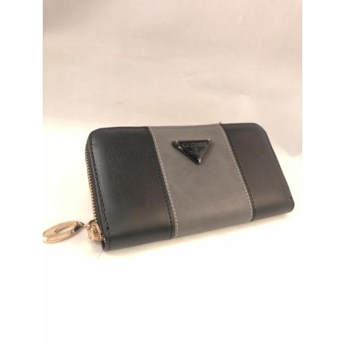 fekete szürke pénztárca