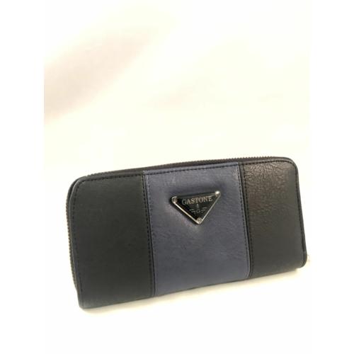 kék fekete pénztárca műbőr