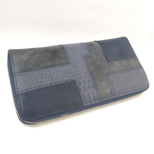 pénztárca kék színben