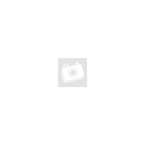 Mata gyerek hátizsák, vászon, piros-fehér pöttyös, cicás