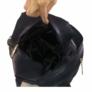 Kép 4/4 - Cipzáros hátizsák fekete Abrielle