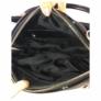 Kép 3/3 - Prestige női fekete lakk hatású táska