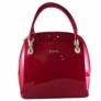 Kép 1/2 - Prestige női piros lakk hatású táska