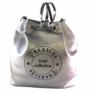 Kép 1/3 - Prestige női ezüst hátizsák