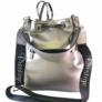 Kép 2/3 - Prestige női ezüst hátizsák