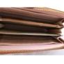 Kép 2/2 - Karamell színű műbőr pénztárca
