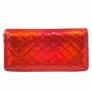 Kép 2/3 - Piros csillogó pénztárca