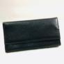 Kép 1/3 - fekete műbőr brifkó pincér pénztárca