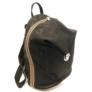 Kép 1/3 - Chiara bőr hátizsák fekete Bruno