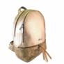 Kép 1/3 - Karen rostbőr hátizsák arany színben
