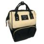Kép 3/5 - Baba - mama pamutvászon táska fekete és bézs színben